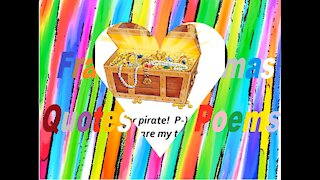 I'm your pirate! [Quotes and Poems]