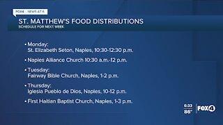 Southwest Florida food distributions