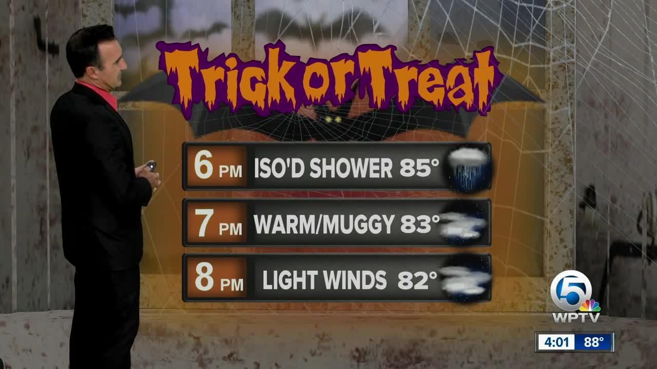 Updated Halloween forecast