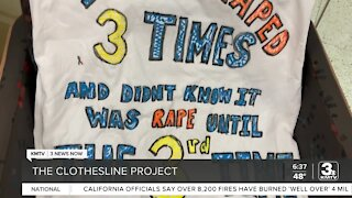 The Clothesline Project brings awareness to sexual, domestic violence