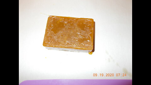 Homemade Pears Soap
