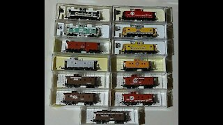 N Scale Model Trains for Sale