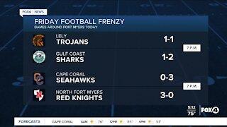 Friday Football Frenzy High School
