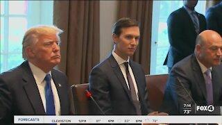 White House says Jared Kushner never spoke to President