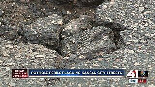 Pothole perils plague Kansas City streets