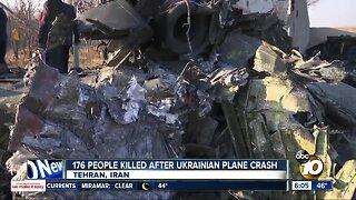 176 people killed after Ukrainian plane crash
