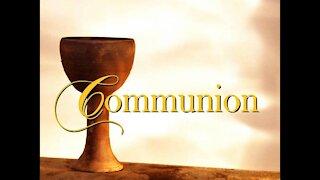 Communion Service with Ann M. Wolf