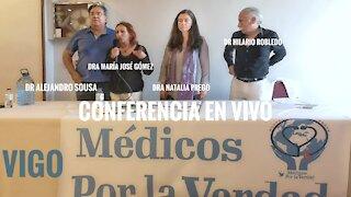 CONFERENCIA EN VIVO DESDE VIGO MÉDICOS POR LA VERDAD