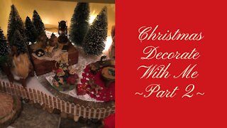 Christmas Decorate With Me ~Part 2~