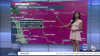 ABC 10News Pinpoint Weather for Sun. June 19, 2021