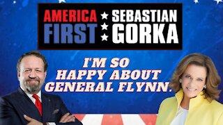 I'm so happy about General Flynn. K.T. McFarland with Sebastian Gorka on AMERICA First