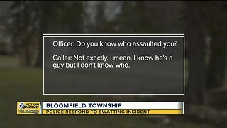 Police respond to swatting incident in Bloomfield Township