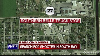 Person shot a truck stop in South Bay