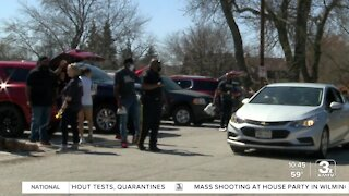 Drive-thru Easter event held in Omaha