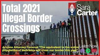 Total 2021 Illegal Border Crossings