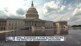Local impact of government shutdown