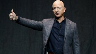 Jeff Bezos Hours From Historic First In Space