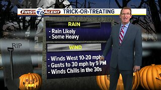 Messy Halloween forecast