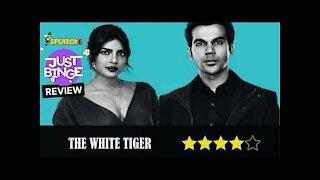 The White Tiger Review | Priyanka Chopra | Rajkummar Rao | Just Binge Review | SpotboyE