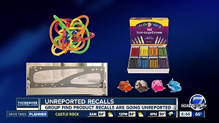 Consumer alert: Recalled kids products not listed on companies' websites