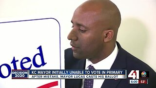 After election judge's mistake, Mayor Quinton Lucas casts primary vote