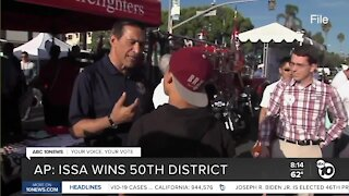 San Diego Registrar updates put Issa on top for 50th, show Gloria ahead for San Diego Mayor