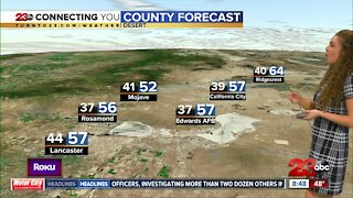 Saturday morning forecast, 8 am