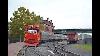 Western Maryland Scenic Railroad Cab Ride