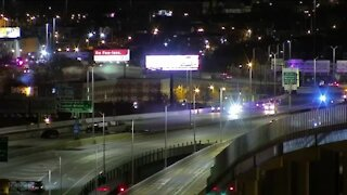Northbound lanes of I-43 west of Canal St. closed due to accident