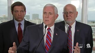 Mike Pence meets with cruise executives in Florida
