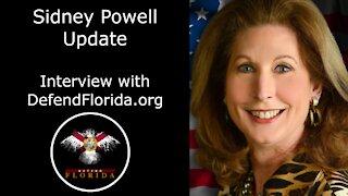 Sidney Powell EXPLOSIVE Interview - Retaking American Freedom