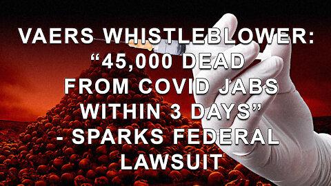 45000 DEATHS IN 3 DAYS