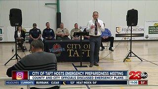 City of Taft hosts emergency preparedness meeting
