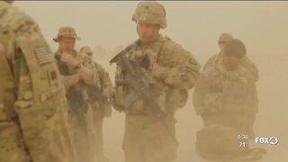 Trump bringing troops home