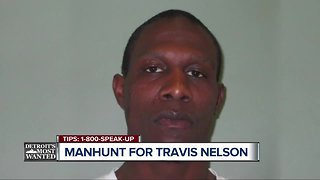 Detroit's Most Wanted: Travis Nelson accused of trying to kill three people