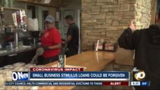 Small business stimulus loans could be forgiven