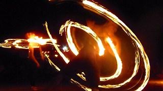 Fire Dance Performance In Dubai Festival Safari Desert!! AMAZING