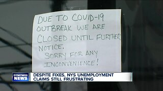 Frustrations continue with NYS unemployment claims