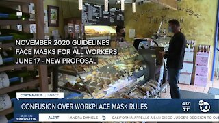 Cal/OSHA withdraws recent mask rules