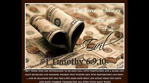 Money is not EVIL
