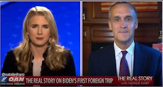 The Real Story - OAN Biden's First Foreign Trip with Corey Lewandowski