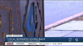 Tucson businesses display kindness amid coronavirus pandemic