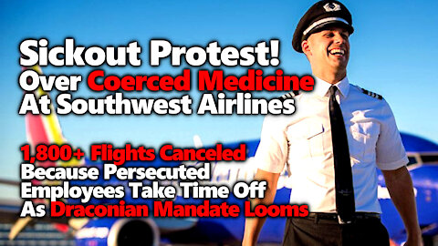 1.8K Canceled Flights As Southwest Airlines Pilots & Employees Use Sick Days Leading Up To Deadline