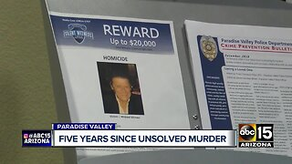 Paradise Valley murder still a mystery after five years