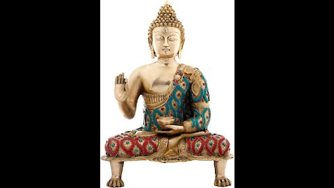 In A Vision I Saw AC Being Worshipped (A Gold Buddha Statue) Shattered Into 7 Pieces! Area Shown