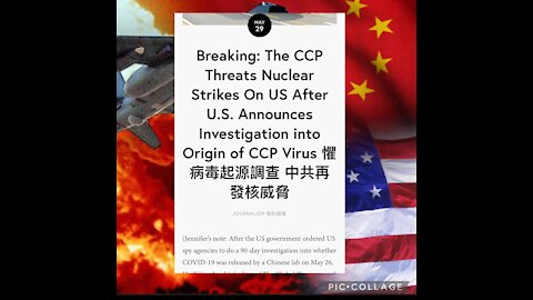 SITUATION REPORT: NUCLEAR THREAT from CCP