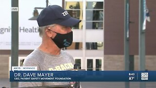 Valley doctor walking across America to advocate for patients, caregivers