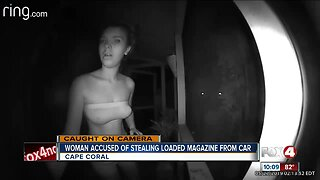 Police looking to identify tube top-wearing burglary suspect in Cape Coral