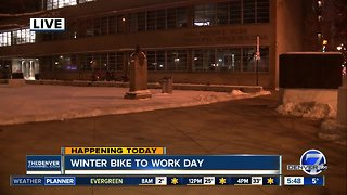 Today is Winter Bike to Work Day
