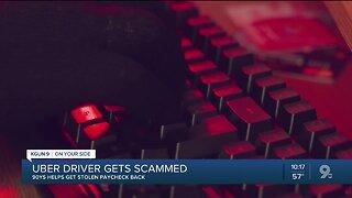 KGUN 9 helps Uber driver get money back after app scam